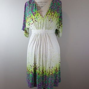 Eci dress size 6 midi length